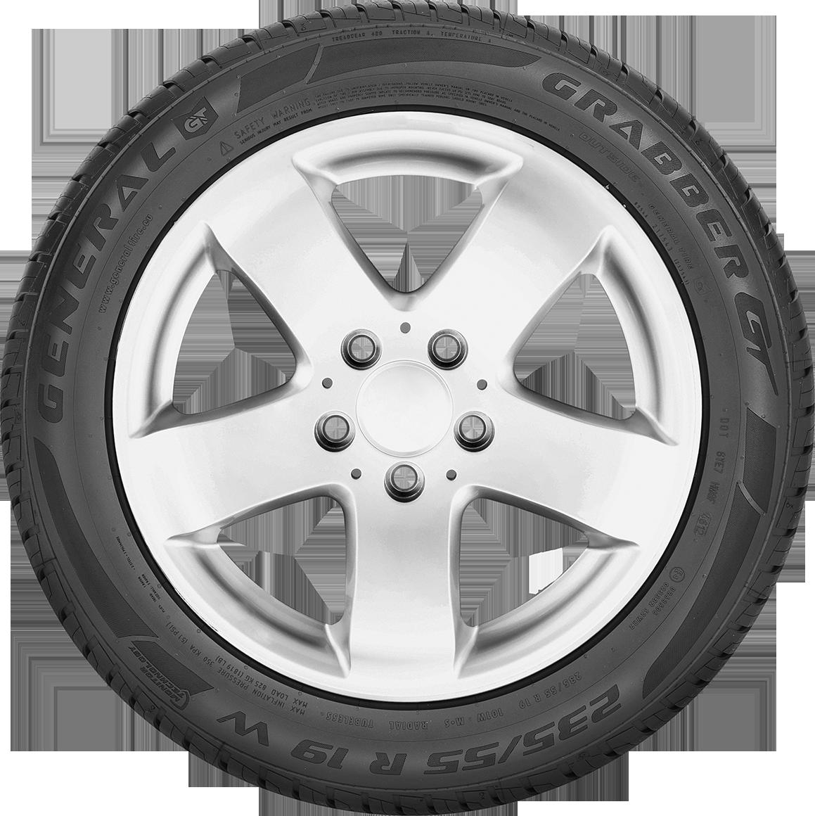 1x SUMMER TYRE General Tire Grabber GT 255//60R18 112V XL M+S FR