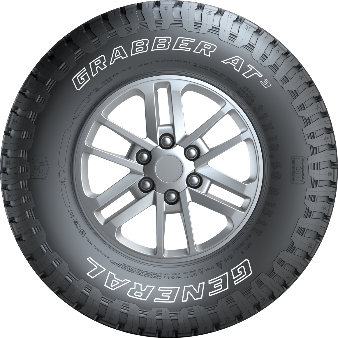 GRABBER AT3 - The Offroad SUV & 4x4 Tyre with Strong Grip ...
