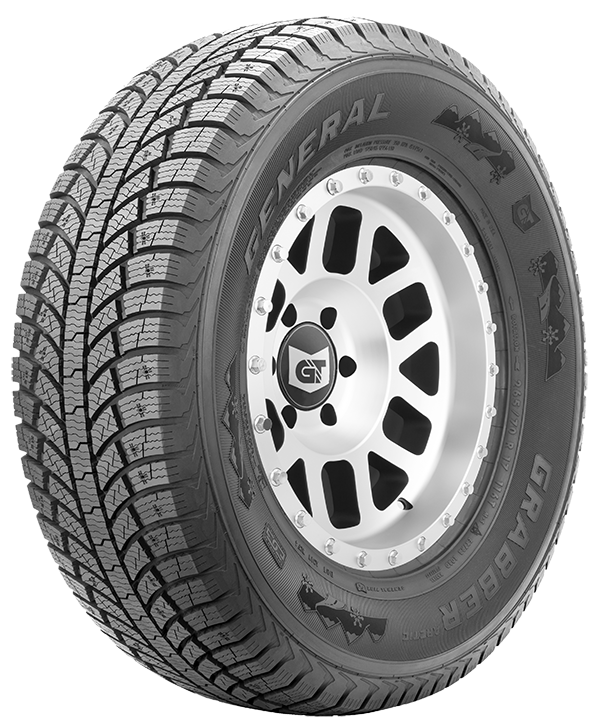 grabber arctic studdable winter tire for large suvs and pickup truck fitments general tire. Black Bedroom Furniture Sets. Home Design Ideas