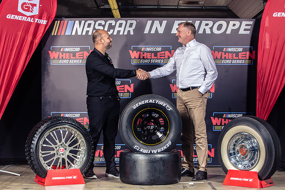 General Tire becomes Official Partner of NASCAR Whelen Euro Series