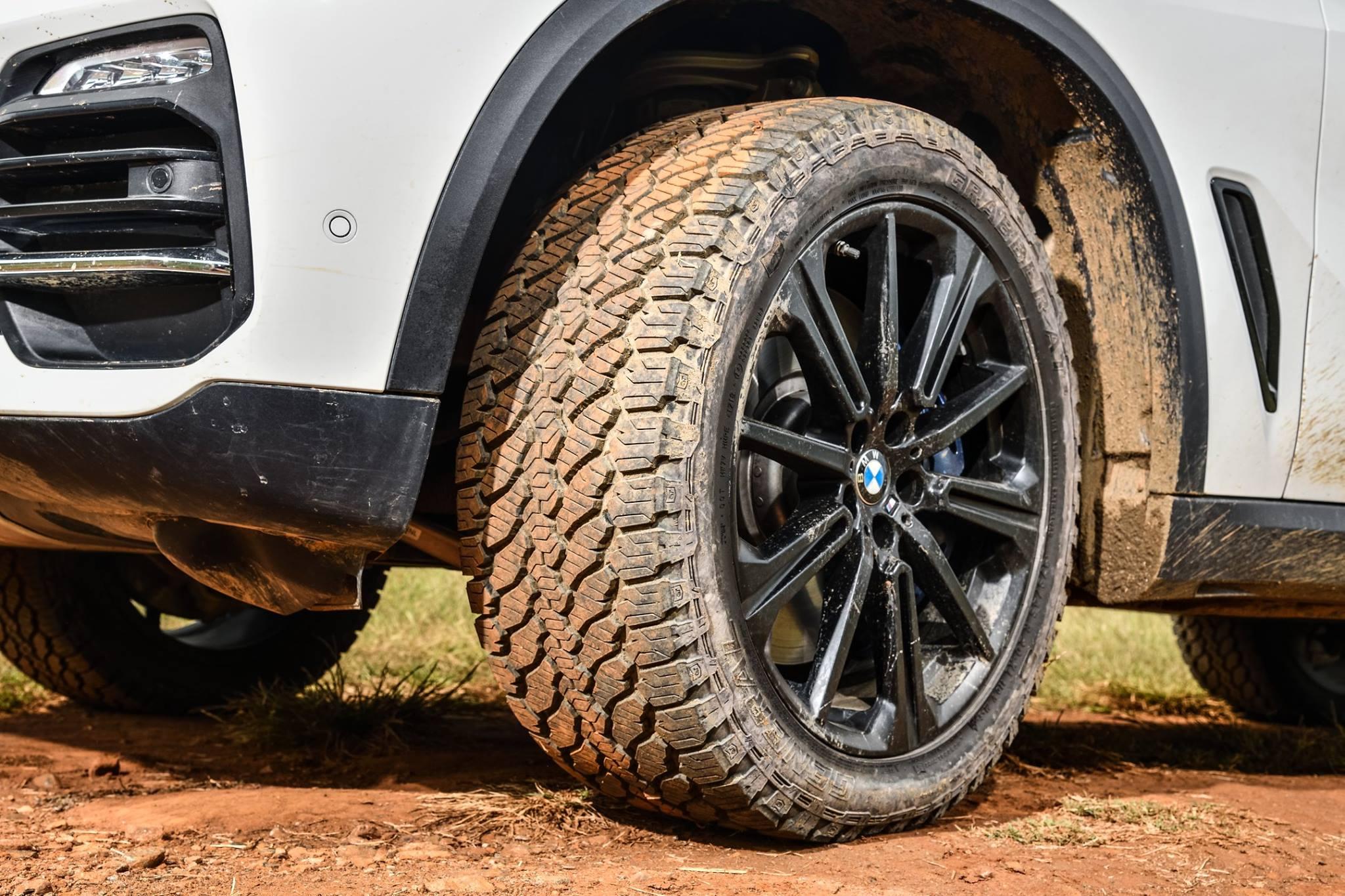 General Tire abroncsokkal szerelik a legújabb BMW X5-öst