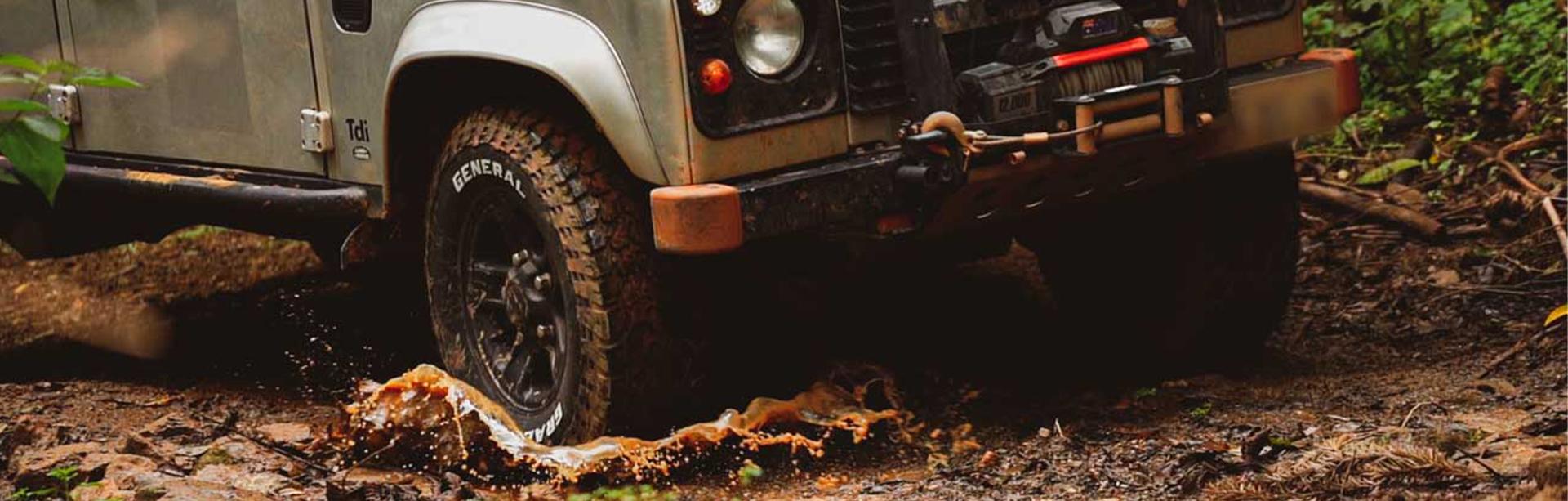 Expedição General Tire   Ep 5 - Serra da Bocaina - Veiculo atravessando lama