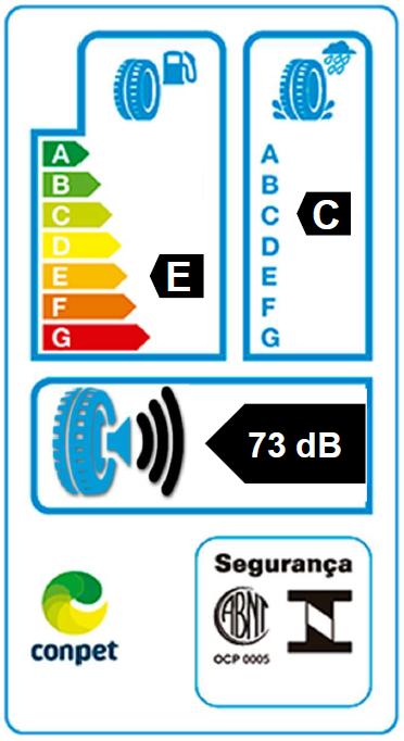 Etiqueta Inmetro - Altimax One S